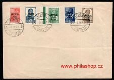 Latvia, cover stamps 1941