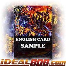 Buddyfight x 4 Jet Black Crest Dragon, Yngwem [X-BT02A-CP03/0023EN R (Glossy)] E