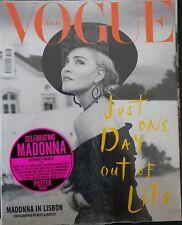 Madonna - Vogue Italia - Magazine - 2018 (NEW and sealed)