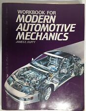Workbook For Modern Automotive Mechanics by James E. Duffy