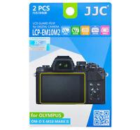 JJC LCP-EM10M2 Screen Protector for OLYMPUS OM-D E-M10 MARK II EPL7 EM5 EM1 Mk2