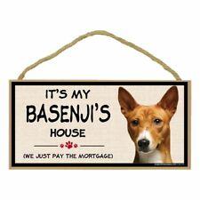 Imagine This Wood Breed Decorative Mortgage Sign, Basenji