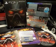 Killzone Helghast Limited Collectors Edition Steelbook steel metal case