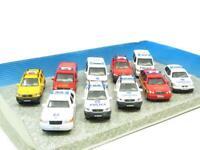 Cararama Hongwell 10 Model Set Emergency Vehicles Mercedes and BMW 1 72 Scale
