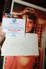 Original Autographed Note Card Sophia Loren Actress Beauty Queen with COA