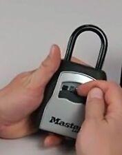 Master Lock Lock Box Portable Key Safe Door Knob Fit Key and Access Card Storage