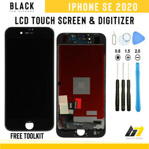 iPhone SE 2020 Replacement Screen LCD Display Digitizer Touch Assembly Black UK