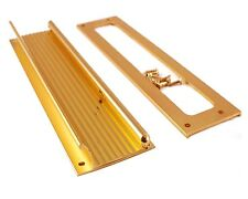 """Letter Mail Door Plate Slot Full Hinged Spring Loaded Flap & Back Plate 3"""" x 13"""""""
