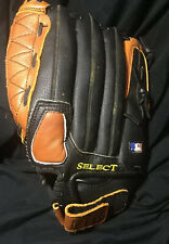 """New listing Wilson Pro Select Baseball Glove 12.5"""" A2476 Black Brown Right Hand Thrower  BP"""
