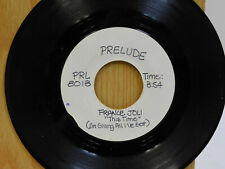 France Joli test press one sided 45 This Time on Prelude