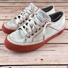 675b28a202ec Fitflop Womens SUPER T  100 Sneaker Canvas Toning Shoe White Orange Size 8  PM