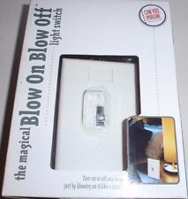 Magical Blow On Blow Off™ Light Switch by Can You Imagine with Night Light Glow