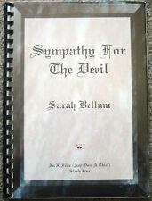 """X-Files Once a Thief Fanzine """"Sympathy for the Devil"""" SLASH  Novel"""