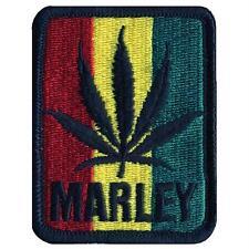 Bob Marley - Leaf Tri Color Patch