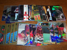 Lot of 47 PAT BURRELL INSERT & ROOKIE RC cards 1999-2000 BV=$140+ Phillies