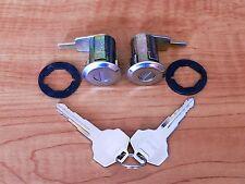 Door Lock Cylinder Set RH & LH Pair for Datsun Truck 720 1980-1986
