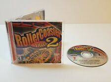 RollerCoaster Tycoon 2 PC CD-Rom 2002 real-time isometric amusement park sim
