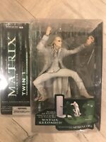 The Matrix Series 1 Twin 1 Action Figure The Matrix Reloaded McFarlane Toys NEW