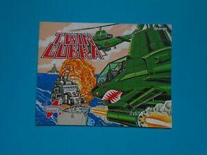Twin Cobra (Nintendo NES) Authentic Game Manual Book