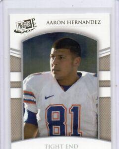 2010 Press Pass PE Gold Aaron Hernandez RC Patriots