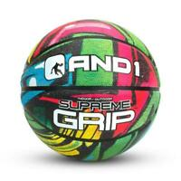 And1 Enigma Street Basketball Official Size 7 (29.5) Wide Channel Grip Ball New
