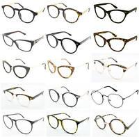 Geek Nerd Clear Lenses Glasses Optical Frames Fancy Dress Fashion Spectacles