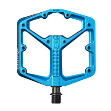 Crank Brothers STAMP 3 Pedals for MTB Mountain Bike - LARGE BLUE - NEW