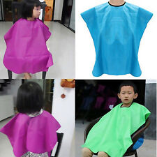 Child Salon Waterproof Hair Cut Hairdressing Barbers Cape Gown Wai Cloth Handy