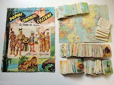 MANCOLISTA - POPOLI CONTINENTI COSTUMI - BEA 1950 Figurine-Stickers Recuperate