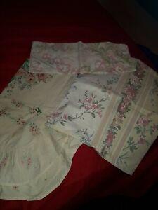Cotton floral pillow cases