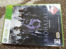 BIOHAZARD 6 Resident Evil 6 Microsoft Xbox 360 Tested Work
