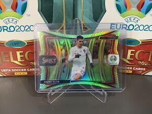 Euro 2020 Select Portugal Mezzanine Die-Cut Green /149 Andre Silva #133
