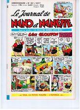 "REVUE BD ""NANO ET NANETTE no 464"" (1966) MARIJAC..."