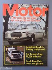 R&L Mag MotorJune 28 1975: Mercedes 200 & 240D Test/Droopsnoot Firenza