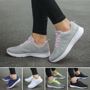 Womens Athletic Running Trainers Casual Sports Tennis Sneakers Fitness Gym Shoes