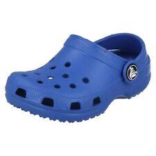 Scarpe zoccolate blu marca Crocs per bambine dai 2 ai 16 anni