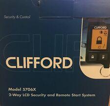Car Alarm - Alarm/Remote Start - Clifford 5706Xclifford 5706x