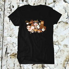 Harvest Moon Nintendo Wii U 3DS Men Black Shirt Tee T-Shirt New Bact To Nature