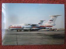SHARJAH PHOTO AVION AIRCRAFT ILYUSHIN IL-76TD RA-76841 RUSSIA MINISTRY EMERGENCY