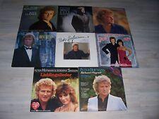 Sehr gute Peter HOFMANN Sammlung mit 8 verschiedenen LPs !   Komplette LISTE ! !
