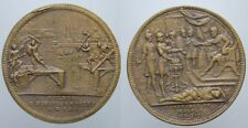 JETON HORATIUS COCLES PONS SUBLICIUS MUCIUS SCAEVOLA SWIZERLAND 1740 - 1750