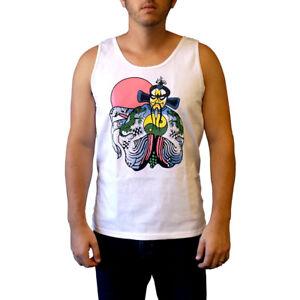 Jack Burton Tank Top Big Trouble In Little China Movie Costume Shirt Samurai Sun