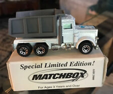 Special Limited Edition Matchbox Peterbilt Quarry Dumptruck Earth Tech Rare 1981