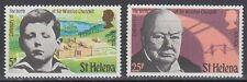 St. Helena 1974 ** Mi.272/73 Sir Winston Churchill [sq5980]