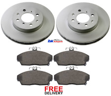 FOR ROVER 25 1.1 1.4 45 200 214 216 400 414 FRONT BRAKE DISCS & PADS SET NEW