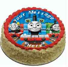 Thomas the tank edible cake topper FONDANT birthday party train