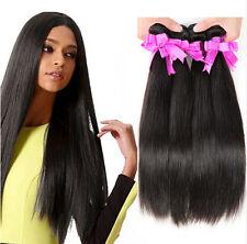 Peruvian Human Hair Weft 200g 4Bundles Virgin Straight Human Hair Extension weft