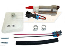 WALBRO E85 RACING FUEL PUMP F90000274 450LPH HIGH PRESSURE WITH INSTALL KIT