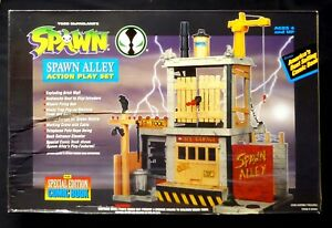 Spawn Alley Playset New 1994 Spawn Series 1 Sealed McFarlane Toys Amricons MB