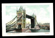 Tower Bridge, London, Unused Postcard #C2401